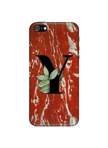 People's Cover iPhone 5/5S/5SE Baskılı Harfli Telefon Kılıfı Renkli